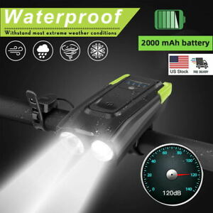 Impermeable-Velo-Phare-Super-Bright-Velo-feu-avant-rechargeable-usb-corne