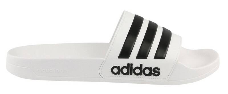 Adidas Neo Adulti Ciabatte Da Piscina Cloudfoam Adilette Bianco/nero