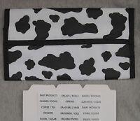 Cow Pattern Hannah Hansen Coupon Organizer Holder