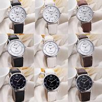2016 Fashion Geneva Casual Watch Women Watch Leather Analog Ladies Quartz Watch
