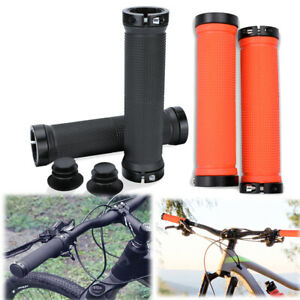 Ergonomic Rubber MTB Mountain Bike Bicycle Handlebar Grips Cycling Lock-On