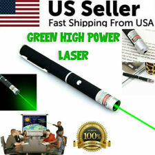 New Strong 900 Mile 5 M W 532nm Green Laser Pointer Pen Visible Beam Light Lazer