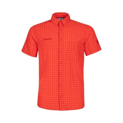Mammut Lenni Shirt Men   Wanderhemd Reisehemd  spicy
