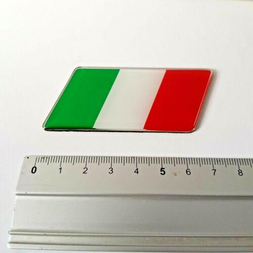 Vauxhall Tricolore Italie Drapeau Badge Autocollant Fits Zafira Meriva Adam Antara Mokka