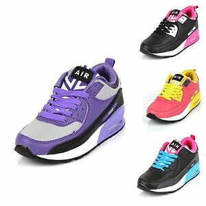 6f26ccf4d569 Image is loading Ladies-Running-Trainers-New-Womens-Shock-Absorbing-Fitness-