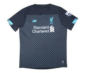 Liverpool 2019-20 ORIGINALE THIRD SHIRT (eccellente) L soccer jersey