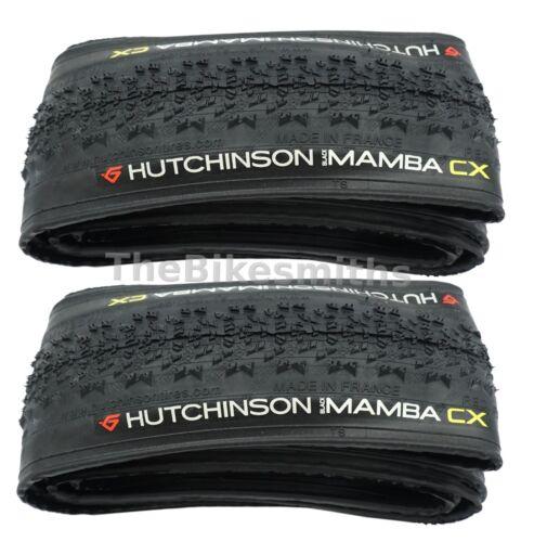 1 or 2 Pack Hutchinson Black Mamba CX 700 x 34 Folding Bike Tire Cyclocross