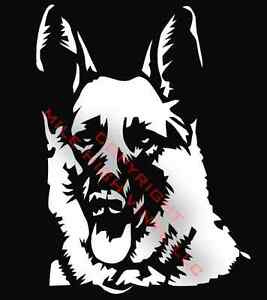 PICK-COLOR-SIZE-German-Shepherd-Dog-Vinyl-Decal-Window-Glass-Sticker-NEW
