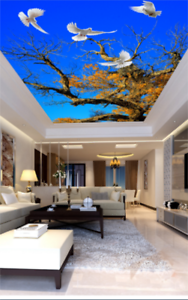 3D Autumn Forest 489 Ceiling Wall Paper Print Wall Indoor Wall Murals CA Carly