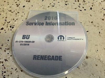 2016 Jeep Grand Cherokee Factory Service Repair Workshop Shop Manual CD 70-1664