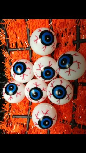 halloween 8 X severed eye balls Great Fun Prop