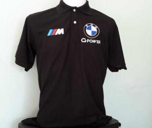 "/""BMW G POWER/"" Polo Shirt KOSTENLOSER VERSAND! NEU"
