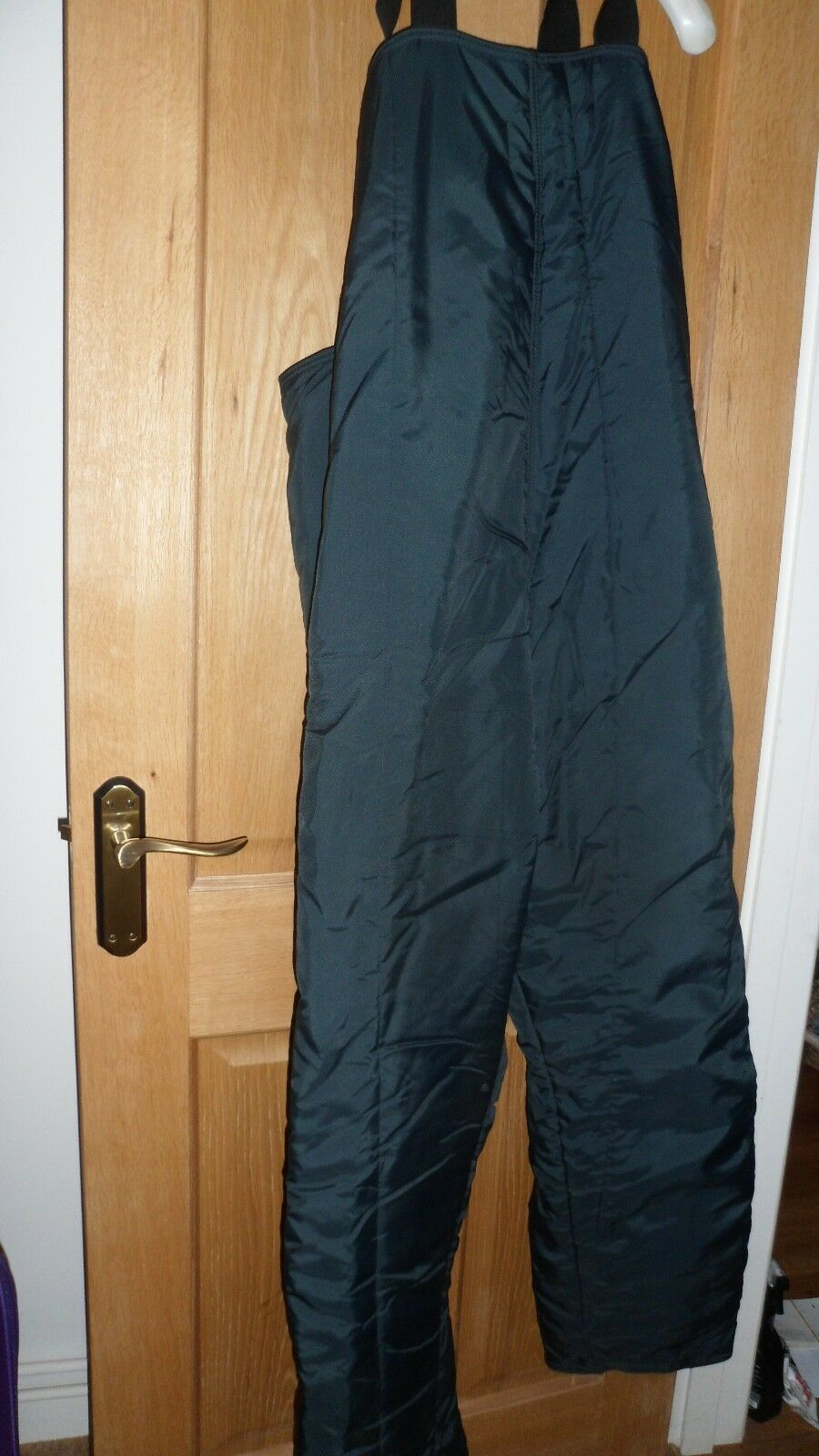ARCO COLDSTORE SKI TROUSER'S SIZE LARGE NAVY