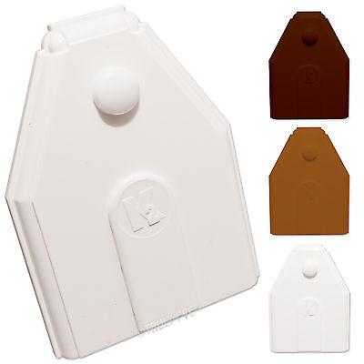 10 X K2 Conservatory Roof Glazing Bar End Caps C9038 Ebay