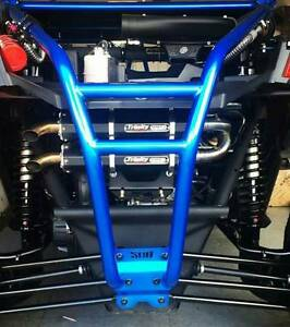 Details about 2017-2019 CanAm X3 Maverick Trinity Stage 5 Slip on Exhaust  System Dual Black