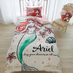 Image Is Loading Disney Little Mermaid Ariel Bed Bedding Cover Pillow