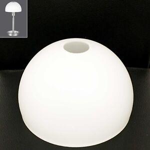 glas lampen schirm ersatz schale wei 14 5 cm lampe verona tischlampe g00267 ebay. Black Bedroom Furniture Sets. Home Design Ideas