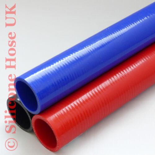 Silicone Droit Renforcé Tuyau 57 mm ID Noir Long de 492 mm d/'eau de refroidissement Turbo