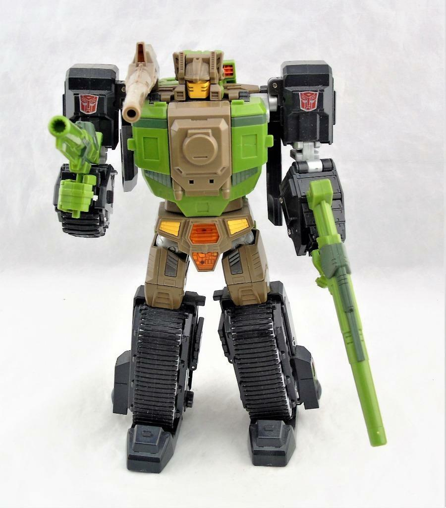 Transformers MakeSpielzeugs MT MTRM-04 Ironwill Headmaster Figure Complete
