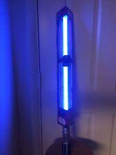 STAR WARS REY'S BLUE LIGHTSABER Disney Store FX Sounds Luke Anakin Item# 22