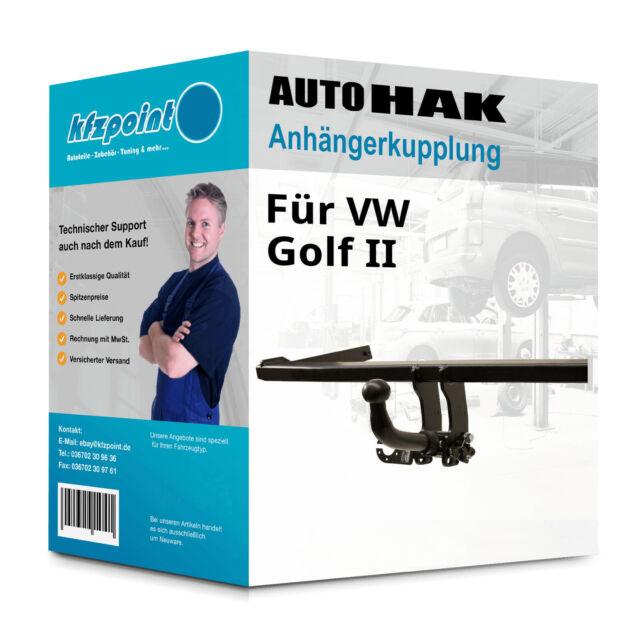 EBA ESatz Set kpl Anhängerkupplung abnehmbar für VW Polo Fliessheck NEU inkl