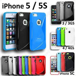 Housse-Coque-Etui-S-Line-Silicone-Gel-Apple-iPhone-3Gs-4-4S-5-5G-5S-5C
