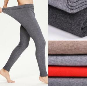 chic mens cashmere wool thermal winter underwear thick. Black Bedroom Furniture Sets. Home Design Ideas