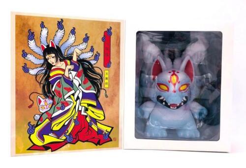"Kidrobot Kyuubi 8/"" DUNNY Vinyl Toy Figure Candie Bolton"
