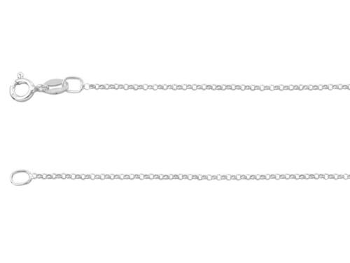 1.4mm // 22 inches // 1.85g 925 Sterling Silver Belcher Chain Necklace