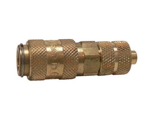 Kupplungsdose NW 2,7 - Schlauchverschraubung 6 x 4 mm