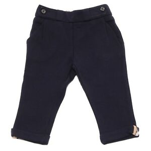 3734V-pantalone-bimba-BURBERRY-blue-trouser-pant-girl-kid