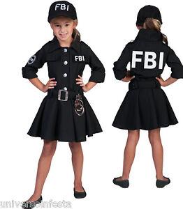 Caricamento dell immagine in corso Costume-POLIZIOTTA-FBI-Tg-da-5-a-14- 79745538da3e