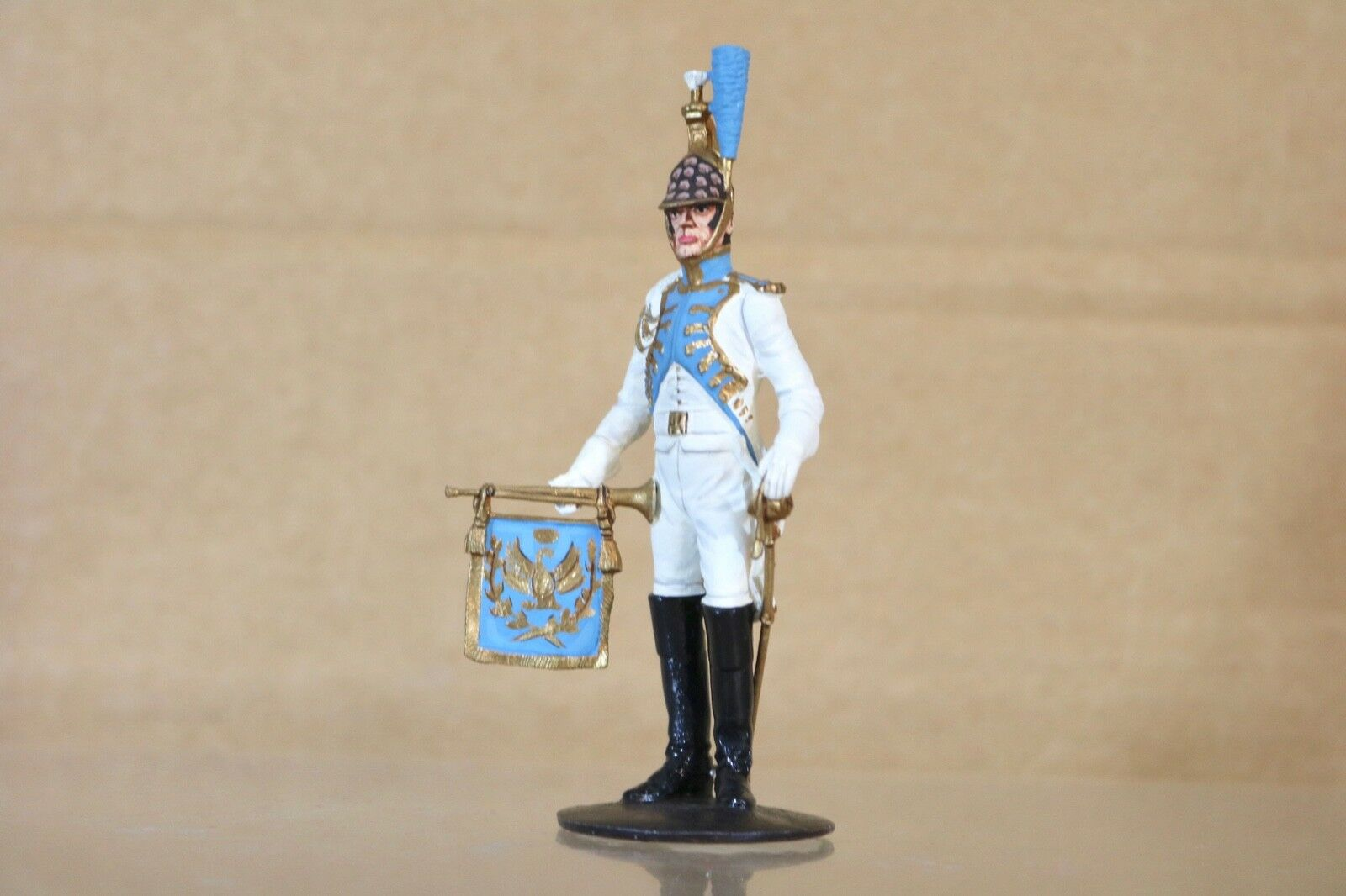 Traditioneller Of London Hinchcliffe 90mm Napoleonisch Französische Dragoner