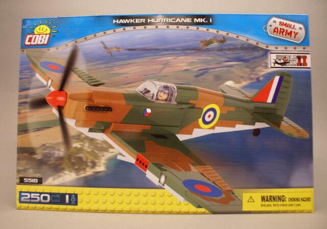 Cobi Small Army World War II Hawker Hurricane MK. I 5518 Jagdflugzeug der RAF