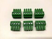 Phoenix Connector Phoenix Contact Plug 4 Pin 381mm Audio Connector Pack Of 6