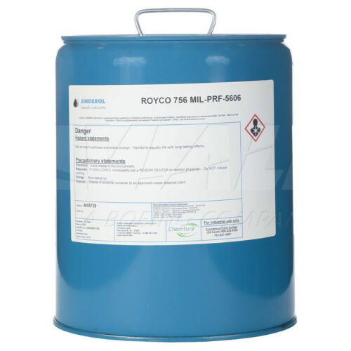 756-5GL Royco 756 Hydraulic Fluid 5 Gallon New Stock