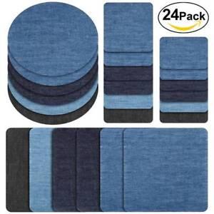 24-PCS-Iron-On-Elbow-Knee-Denim-Jeans-Patches-DIY-Sewing-Appliques-Decor-Repair