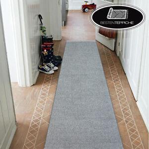 Moderne-Epais-INV-bon-marche-coureur-couloir-Argent-Couloir-Largeur-50-150-Cm-Tapis