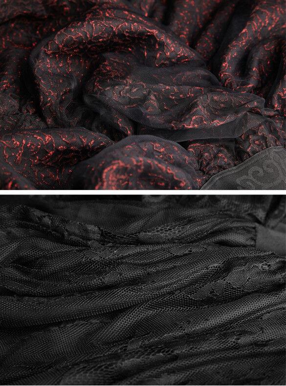 Steampunk Steampunk Steampunk viktorianisch Rock Gothic Barock drapieren Spitze Jacquard Punkrave 050105