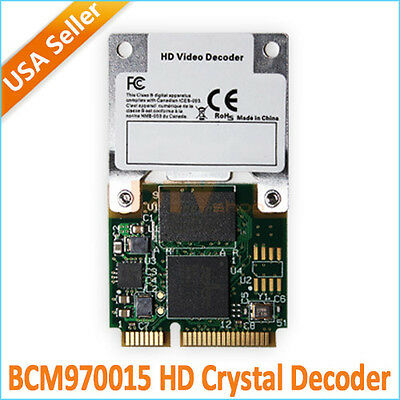 BCM70015 BCM970015 HD Crystal HD Decoder Mini PCIE Card for Apple TV/Notebook