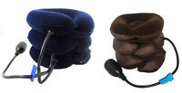 Neck Traction Collar Relief Shoulder Tension Cervical Traction Device Inflatable