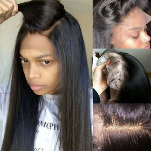 Silk-Top-Indian-Human-Hair-Full-Lace-Wig-Straight-Lace-Front-Wigs-Pre-Plucked