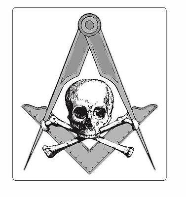 Freemasons Masons Freemasonry Vinyl Sticker Decal M490