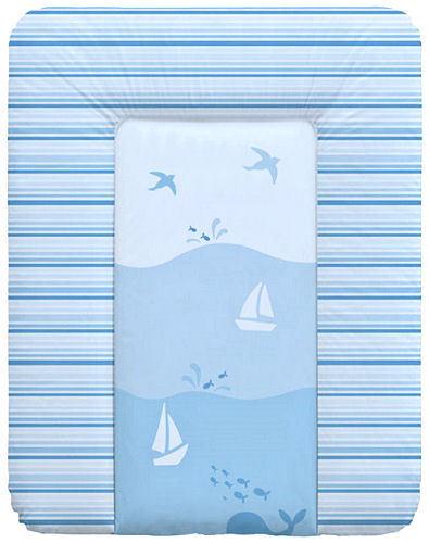 Ocean Wickelauflage 70x50 Wickeltischauflage Wickeltisch Auflage phtalanfrei M