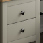 thumbnail 5 - Arlington 2 Drawer Bedside Chest of Drawers Table Cabinet Bedroom Storage Grey
