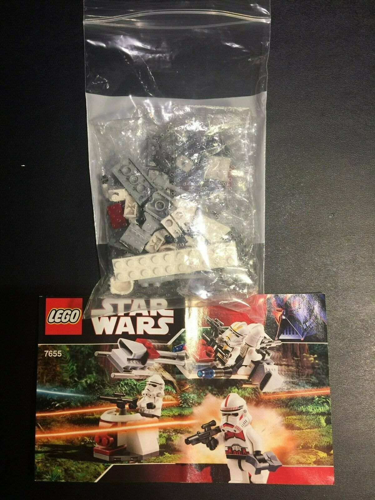 New LEGO Star Wars Instruction Manual Only from set 7655 Clone Trooper Pack
