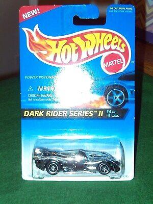 "UNOPENED 1995 HOT WHEELS ""Dark Rider Series II"" Power Piston"