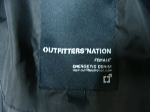 1593 Doudoune Taille Menthe S K Nation Noir Outfitters q0CH70