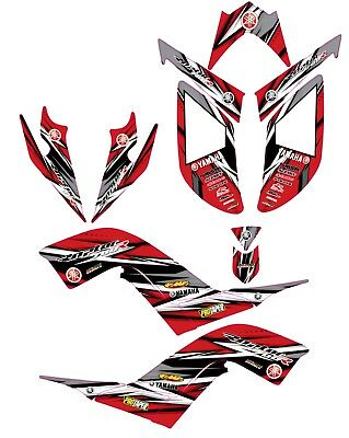 Fits Raptor 700R Graphics decal kit Yamaha 2006 2007 2008 2009 2010 2011 2012