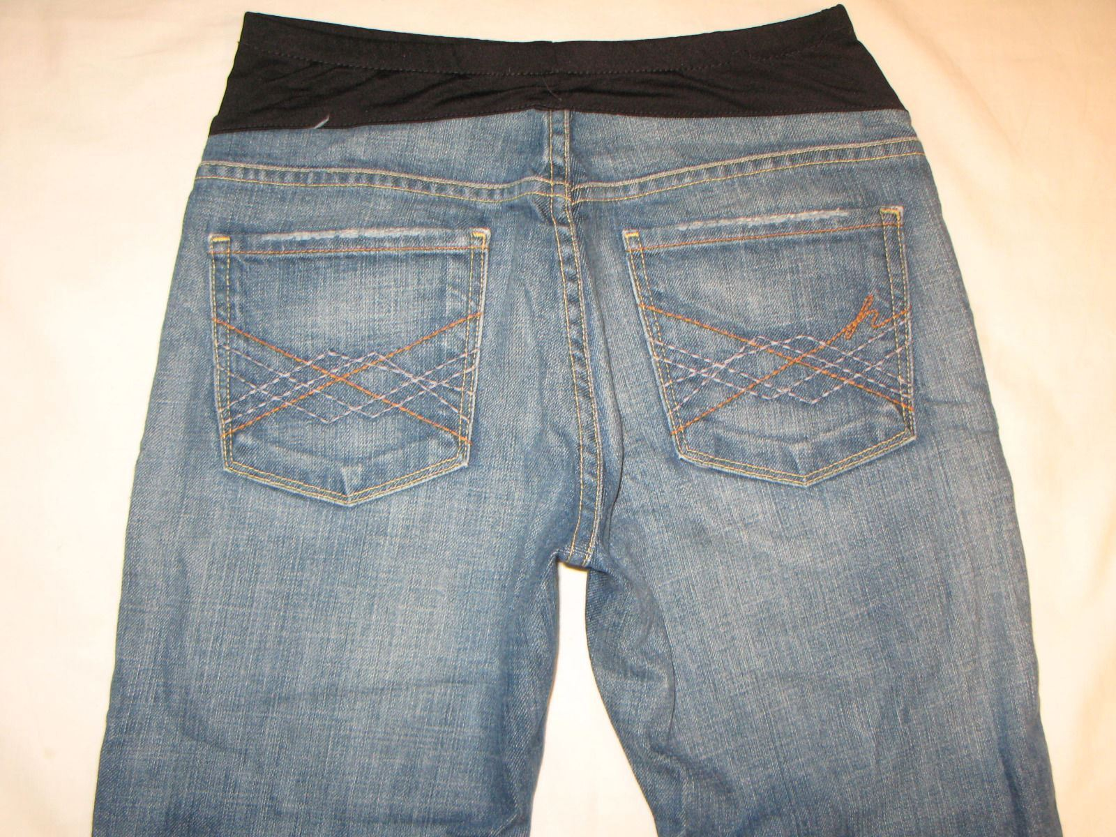 Citizens of Humanity Maternity Jeans Bootcut Distressed Naomi Stretch 27